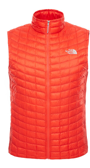 The North Face M's Thermoball Micro Hybrid Vest Fiery Red